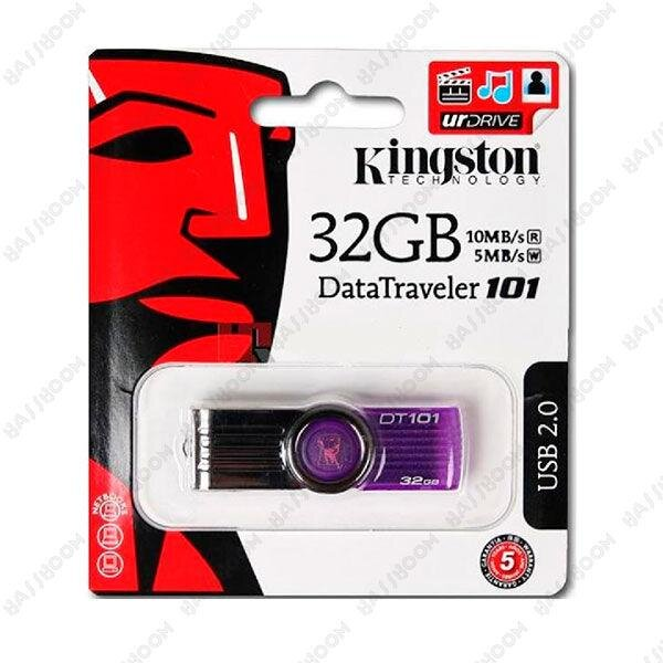 Флеш-память USB KINGSTON Flash-Drive DTI 101 G2 32 GB Purple флешка